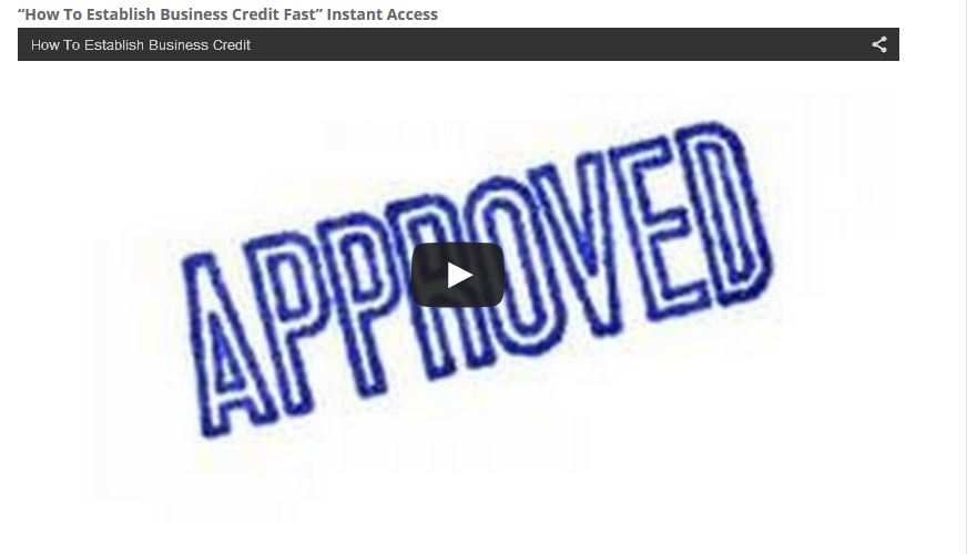 How To Establish Business Credit: Click Here